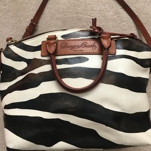 Dooney & Bourke Zebra Florentine Leather Bag